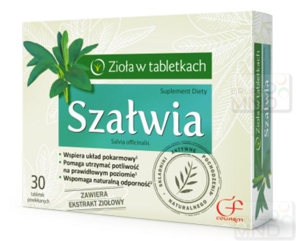 Salbei, 30 Tabletten - Cosmetics-4-you